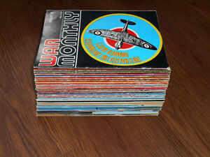 50 War Monthly Magazines (from the 1970s)