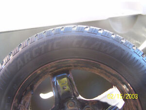 Set of 4 Steel winter rims with tires Cornwall Ontario image 5
