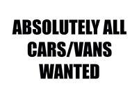 Cars&vans mot failures non runners wanted