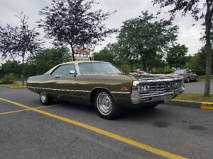 Chrysler Newport 1971 440 tnt survivor hyper propre