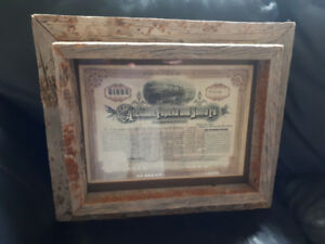 Antique Rustic Wood Picture frame