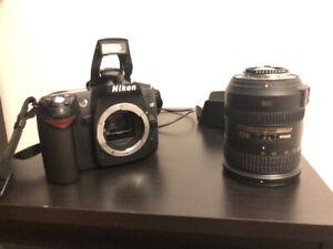 Nikon d90 + accessoires