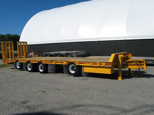 2005 Float King 40 ton tag-a-long quad