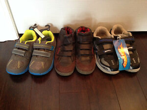 Boys shoes sizes 11, 12 and 13 new and like new