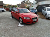2010 VOLVO V50 1.6D DRIVe S,ESTATE,ONLY 1 PREVIOUS OWNER FROM NEW,NEW MOT.