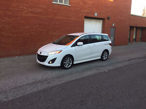 2012 Mazda Mazda5 GT Minivan, Van (Safety & E-Test)