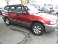 Subaru Forester 2.0 X Auto Estate 2003
