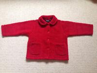 New Mini Boden fleece jacket 3-4yrs