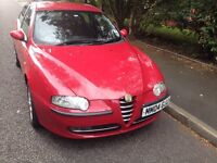 ALFA ROMEO 147 T SPARK FULL MOT STARTS AND RUNS EXCELLENT