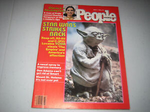 YODA (COVER) - FEATURE - JUNE 9, 1980 PEOPLE WEEKLY