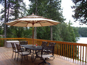 Cottage for rent on beautiful 31 mile lake in the Gatineau Hills