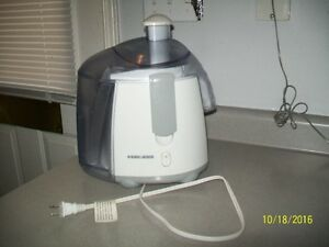 Black and Decker Juicer $35.00 ... NOW $25.00