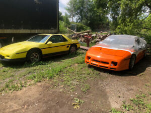 1986 and 1987 Pontiac Fiero GT/SE