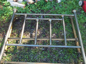 Antique Brass frame for double bed