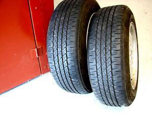 2 pneus d'été FIRESTONE  195/65R15