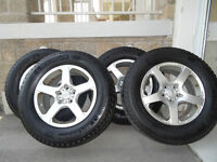 Toyota Venza Micheline Latitude X-Ice tires on Alloy Rims