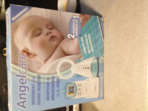Angel care movement baby monitor!