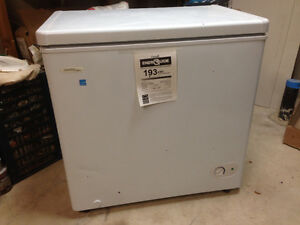 Freezer and Dryer -*Freezer does not work