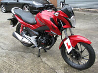 Honda GL 125 1WH-F 2016 16 reg very nice bike