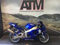 YAMAHA YZF R1 1998, 4XV MODEL, 24K, FSH, NEW MOT WITH SALE (3 MONTHS WARRANTY)