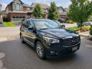 2013 Infiniti JX35 with Theater & Premium packages