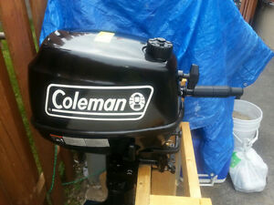 Outboard motor 2014 Coleman F5BM