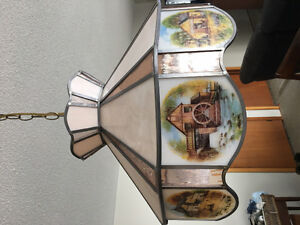 Stained Glass hanging Chandelier
