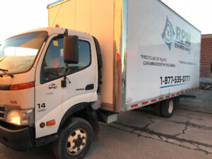 2009 HINO 155 20 FT TRUCK FOR SALE