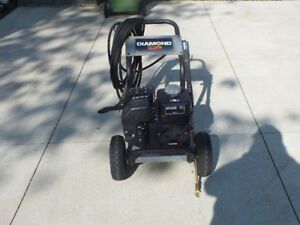 Diamond 3100 psi pressure washer