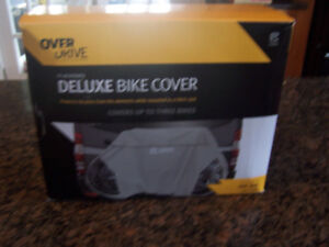 Brand New RV Deluxe Bike Cover (covers up to 3 bikes)