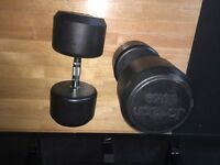 Jordan 50kg dumbells