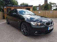 BMW 330 3.0i M SPORT AUTO COUPE IN BLACK