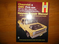 1967-1987 Chev GMC C10 C20 C30 Jimmy Blazer Suburban Shop Manual