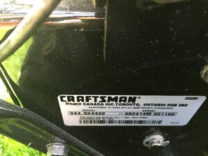 Craftsman premium snowblower