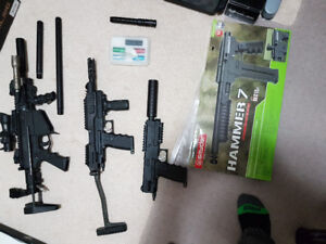 Milsig m17 CQC + TIPX + TIPX with Sarge kit and MORE
