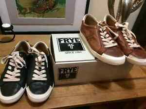 brand new all leather Frye shoes