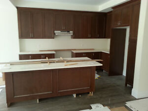 BRAND NEW KITCHEN CABINETS & COUNTERTOP, SOLID WOOD FOR SALE!!