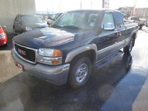 2000 GMC New Sierra 1500 Ext Cab  4X4