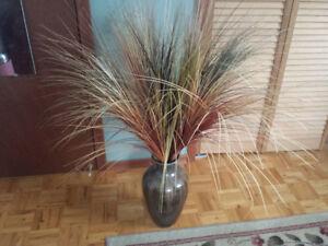 Vase and Grasses