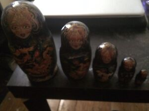 Hand made Russian nesting doll