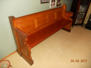 Antique Church Pew for sale