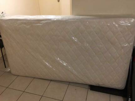 Good condition Sealy King Single Mattress & Bed Frame