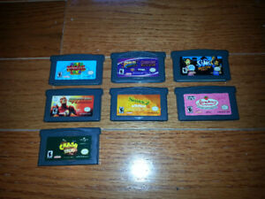 Nintendo Gameboy Advance GBA games (DS / DS Lite)