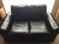 Fake leather sofa