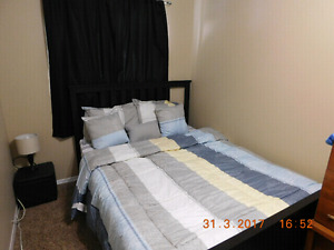 Furnished Room for Rent in a Quiet home