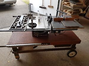 Cabinetmakers Table Saw