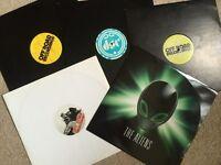"""5 mental dubstep 12"""" vinyl records for DJ.TC Caspa Off Road etc"""