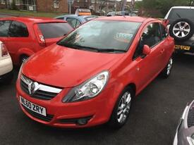 Vauxhall/Opel Corsa 1.2i 16v ( 85ps ) ( a/c ) 2010.5MY SXi Red MOT