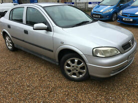 2002 '02' Vauxhall Astra 1.6. Petrol. Manual. 5 Door. Cheap Runner. Px Swap