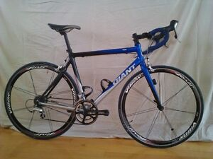 Giant TCR 0  + roues Rolf Prima